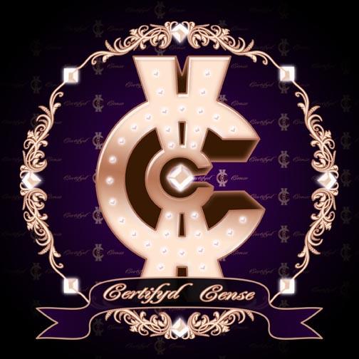 Certifyd Cense CD cover design