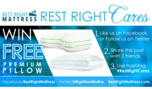 Rest Right Cares graphic