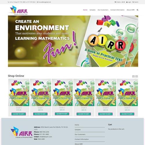TeksAIRR website