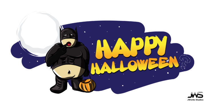 Fatman Halloween Graphic