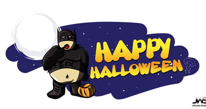 Fatman Halloween Graphic