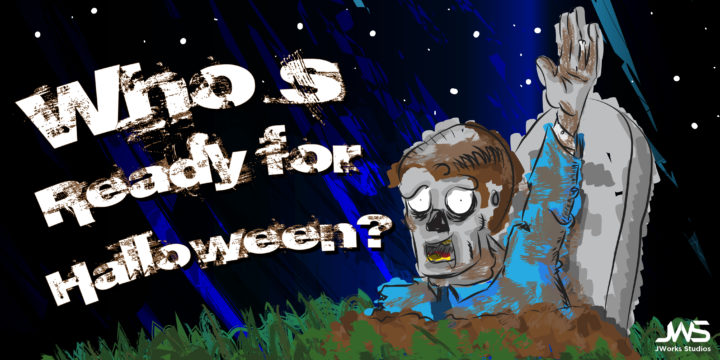 Who's ready for Halloween zombie