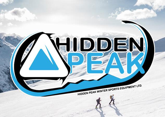 Hidden Peak sports logo