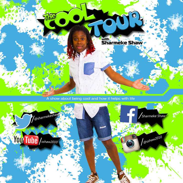 the cool tour cd cover design sharmeke shaw