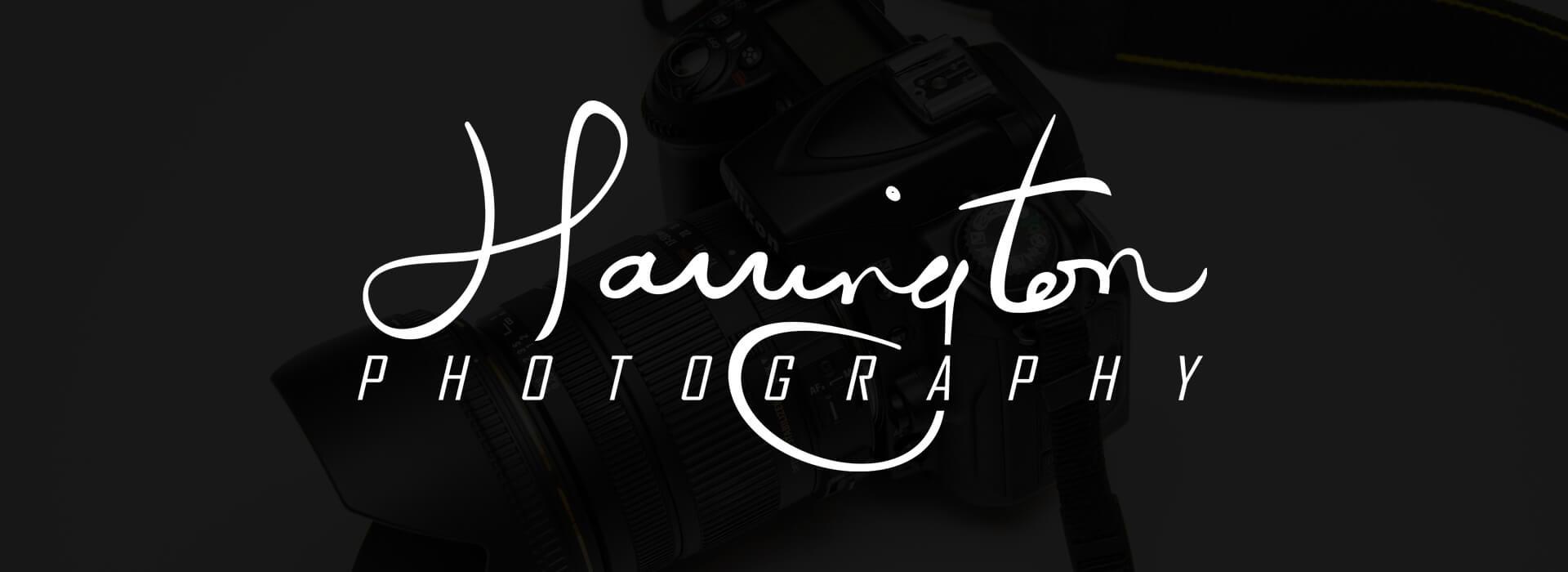 harrington photography customer page header