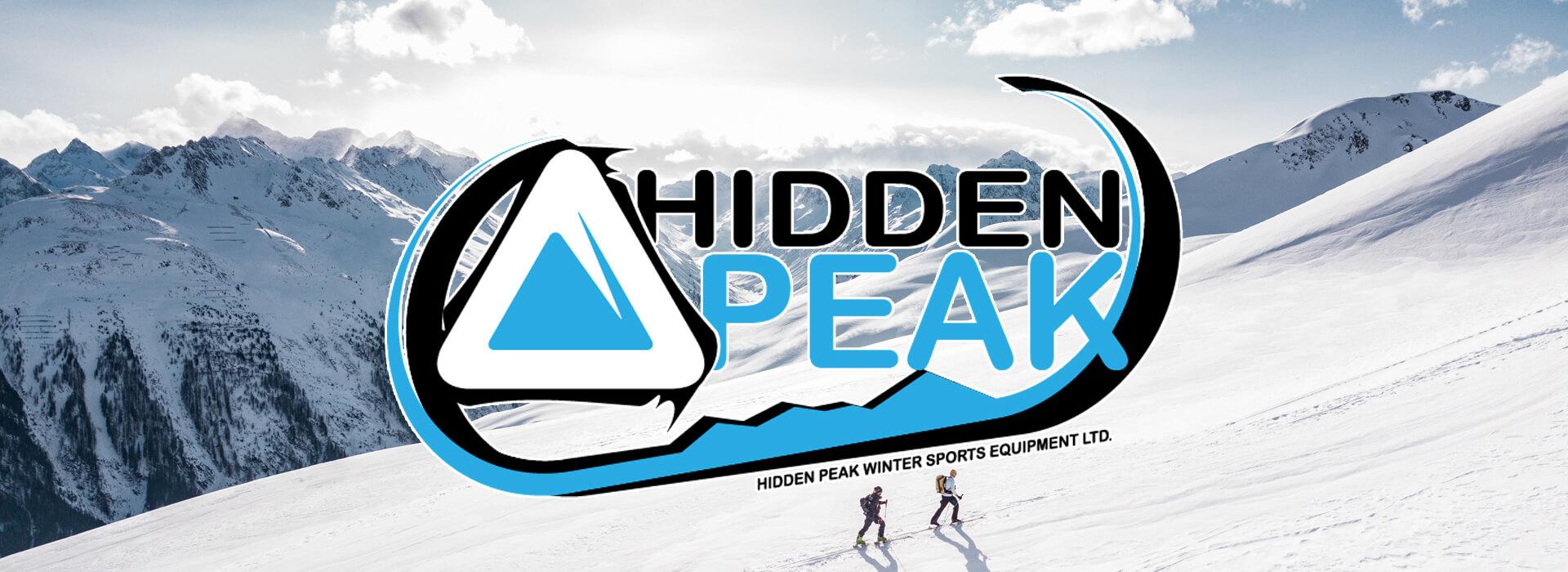 hidden peak customer page header