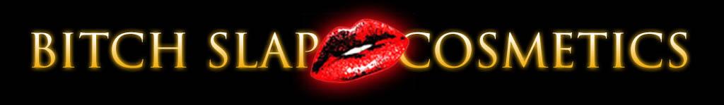 bitch slap cosmetics logo lipstick