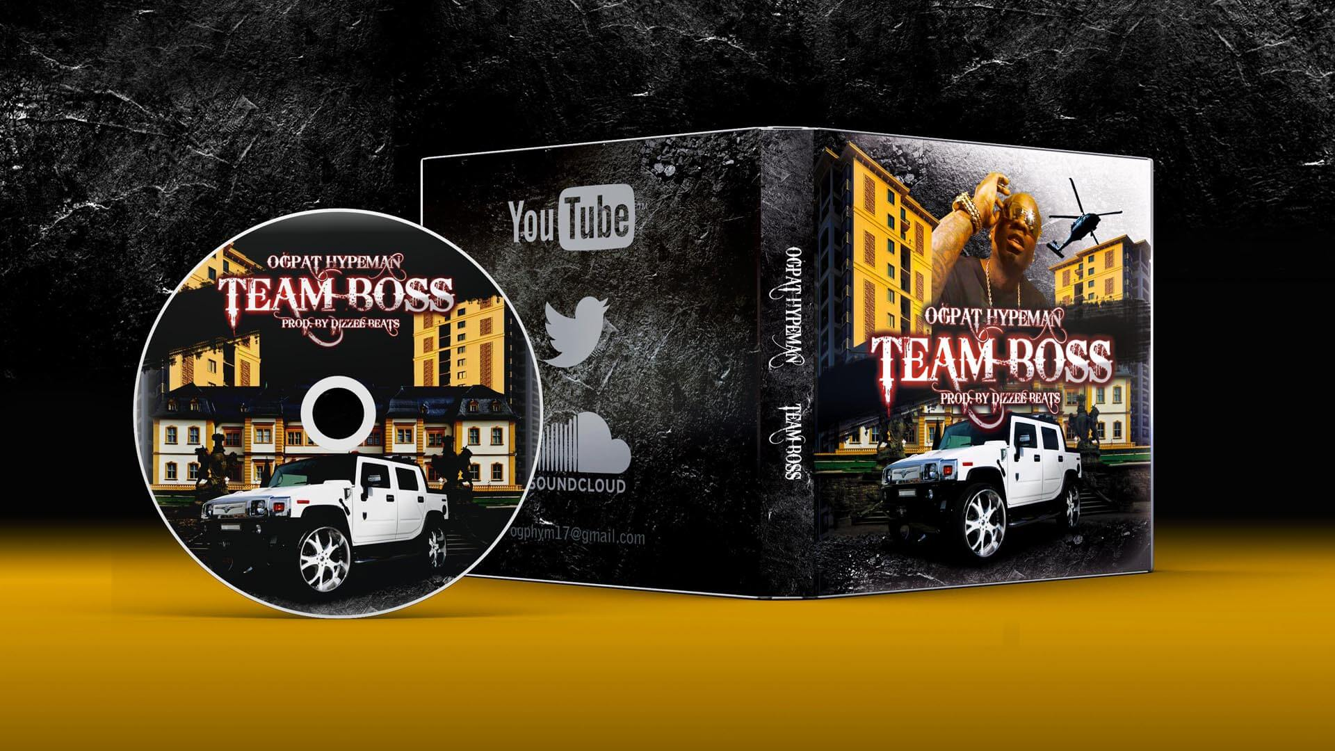 Team Boss CD mockup