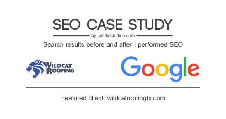 Wildcat Roofing SEO case study