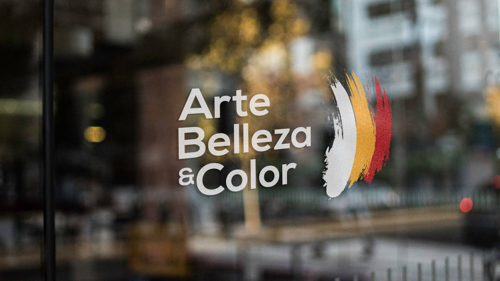 Art Belleza & Color store window