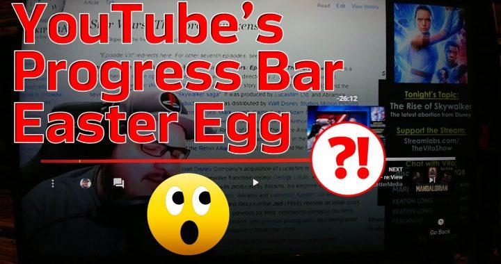 YouTube Progress Bar Easter Egg Thumb