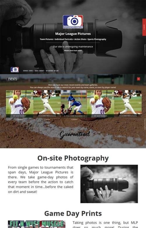 MLP website preview