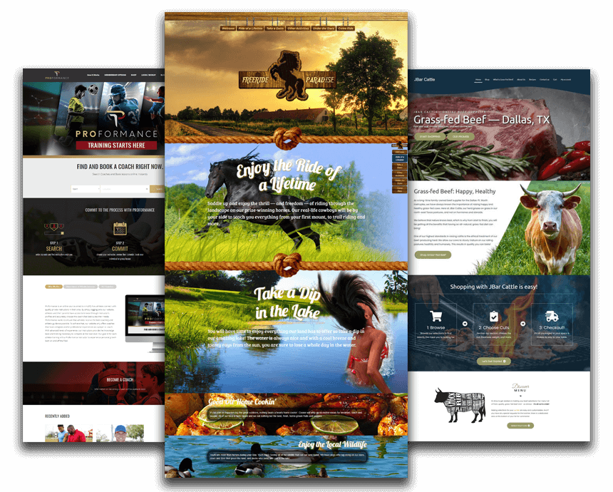 Web design previews